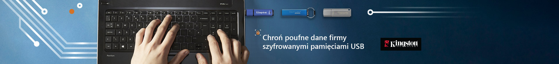 Szyfrowane pendrive'y USB Kingston